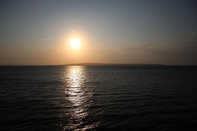 お天気がいいと夕日が見たくなる