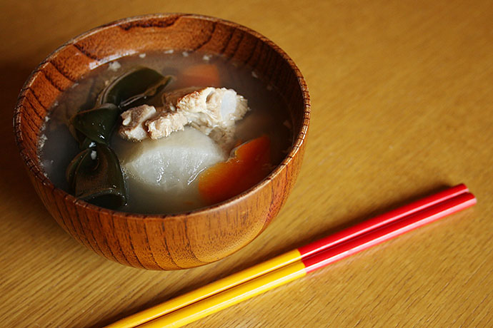 軟骨ソーキ汁