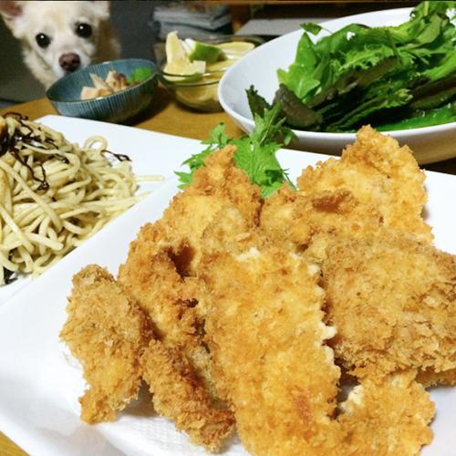 島魚のフライ