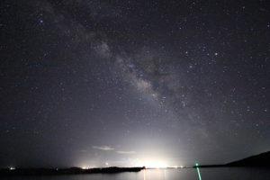 新月なので天の川の撮影へ