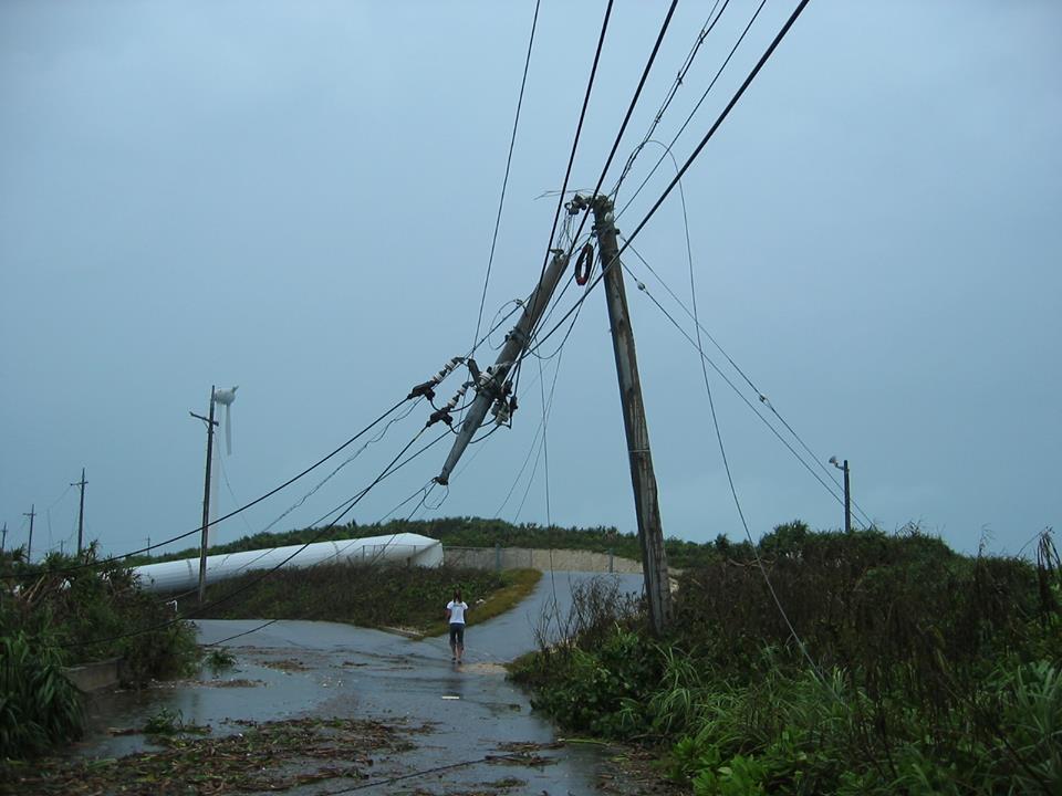 2003年台風14号マエミーの被害